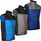 ProQuip Mens Therma Pro Quilted Full Zip Golf Gilet Vest - SALE
