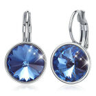 Swarovski Crystal Bella Rhodium Plated Pierced Earrings 5085608