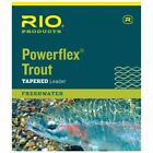 Rio Powerflex 9ft Trout Fishing Tapered Leaders