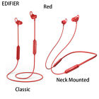EDIFIER W200BT Suction Earphone Wireless Bluetooth Sport Headset With Microphone