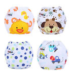 Baby Girl Boy Pee Potty Training Pants Washable Cloth Diaper Nappy Underwear image