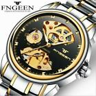 FNGEEN Men Water-proof Luminous Mechanical Watch Skeleton Automatic Watches image