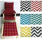 EXTRA PAD(EASY FIT Slipcover) NO ZIPPER-Tailor Made For IKEA Poang Arm Chair*Le