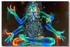 Poster Psychedelic Trippy Colorful Ttrippy Surreal Abstract Astral Art Print 4