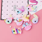 2Pcs Lovely Kids Hair Clips Glitter Rabbit Elephant Whale Girls Cute Hairpins yu
