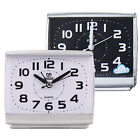 Portable Alarm Clock Battery Operated Home Desk Table School Analog Clock Snooze