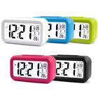 Battery Operated LCD Display Digital Electronic Alarm Clock Snooze For Kids Gift