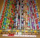 HARD TO FIND GIFT WRAP WRAPPING PAPER ROLLS $15.99 USD on eBay