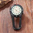 Carabiner Clip on Belt Watches Fob Sports Watch for Doctors Sports Hikers image