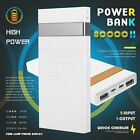 80000mAh Portable Rechargeable Power Bank 2USB Universal Phone Battery Charger