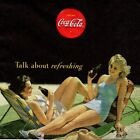 SERVIETTES EN PAPIER COCA COLA PUBLICITE VINTAGE. PAPER NAPKINS COCA COLA PIN UP $1.87  on eBay
