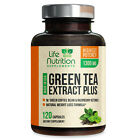 EGCG Green Tea Extract Capsules 1300mg Natural Weight Loss Fat Burner Supplement