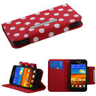 Book Style MyJacket Card Wallet Cover Case for Samsung Epic Touch 4G D710