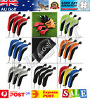 Set of 3 Golf Club Wood Head Covers - 6 colours - AU Stock - Fast Dispatch