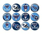 "Tennessee Titans Button Badge Pin Pinback Magnet Flatback 1.25"" Fan Gift Set $10.99 USD on eBay"
