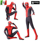 Spiderman Costume Carnevale Spider Man Far From Home Bambino Uomo Cosplay SPM014