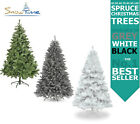 'Christmas Tree Green Grey White Colorado Spruce 4ft 5ft 6ft 7ft 8ft 9ft 10ft