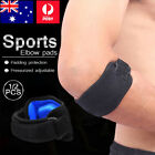 Adjustable Elbow Support Tennis Golf Brace Strap Band Forearm Protection AU