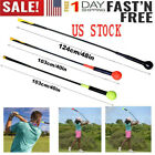Golf Swing Trainer Clubs Training Aid Power Strength Tempo Flex Practice Stick