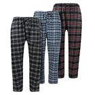 Beverly Hills Polo Men's Cotton Flannel Comfortable Plaid Pajama Pants Lounge  <br/> LIGHTNING FAST FREE SHIPPING!! 100% Authentic!!