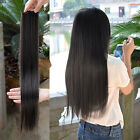 Long New Women Hair Extensions Straight Synthetic Clip in hair Hair Extensions