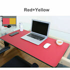 Home Office Ultra Large Mouse Pad Mat Gaming Desk Leather Laptop Mat