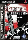 RAINBOW SIX LOCKDOWN (2005) PS2 [COMPLETE] Good & Tested 100% *FREE SHIPPING*