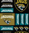 NFL Jacksonville Jaguars Cotton Fabric BTY - Free Shipping! $7.95 USD on eBay