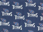 NFL Tennessee Titans Cotton FabricFQ, 1/4 yd or 1/2yd $9.95 USD on eBay