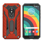 For Motorola Moto E5 Cruise/Play/GO Heavy Duty Case Rugged Armor Hybrid Stand