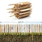 Fence Plug Hazelnut · Bedding Mount Roll Banisters Garden Chestnut Wood Fence