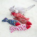 Pet Cat Toys Interactive Catnip Fish Toy Chew Pillow for Pet Cat Kitten