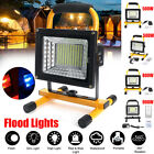 500/800/900W LED Portable Rechargeable Flood Light Work Camping Outdoor Lamp