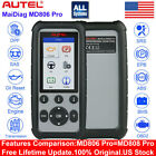 Купить AUTEL MaxiCheck Pro MD806 PRO OBD2 Car Auto Diagnostic Tool Code Readers ABS DPF