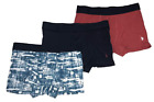 U.S. Polo Assn. Men's 3-Pack Stretch Trunks Cotton Boxer Briefs. Sizes S,M,L,XL