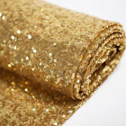 "Glitter Sequin Mesh Fabric 3mm Shinny High Dense Sequins 50"" Wide By The Yard"