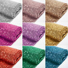 Kyпить Glitter Sequin Mesh Fabric 3mm Shinny High Dense Sequins 50