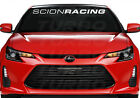 Scion Racing  Windshield Decal Sticker fr-s tc xb $14.99 USD on eBay