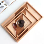 Wooden Storage Tray Serving Trays for Desktop Food Fruit Snacks Nuts Tray