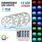 RGB Remote Submersible Swimming Pool Spa Bath 13 LED Light Waterproof Underwater $24.39 USD on eBay
