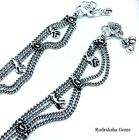 Stunning Anklet Ankle Chain Indian Payal Foot Chain Bollywood Single or Pair