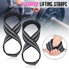 Weight Lifting Figure 8 Strap Gym Training Wrist Wraps Muscle For Gym Fitness