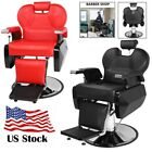 All Purpose Salon Barber Chair Reclining Hair Styling Bed Beauty Spa Heavy Duty