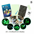 Glowing Paint Glow Light Tablet Draw With Light Pen Toy For Kids Developing Gift