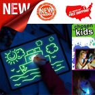 Внешний вид - Glowing Paint Glow Light Tablet Draw With Light Pen Toy For Kids Developing Gift