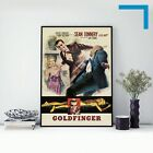 1964 GOLDFINGER (JAMES BOND 007) - Movie Film Poster - A3 A4 A5 Laser Print £11.85 GBP on eBay