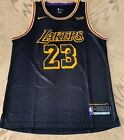 New LeBron James Swingman Jersey #23 Los Angeles Lakers Mens USA S-XXL