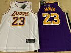 New LeBron James Swingman Alternate Jersey #23 Los Angeles Lakers Mens USA S-XXL on eBay