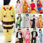 Kids Boy Girl Pajamas Kigurumi Unisex Cosplay Animal Costume Sleepwear Christmas
