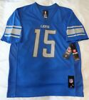 NFL DETROIT LIONS #15 Tate III YOUTH NFL Players Game Jersey - New with/Tags $19.99 USD on eBay